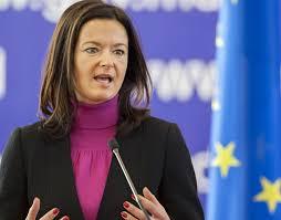 Tanja Fajon, vice-President of the European Parliament's LGBTI Intergroup (Photo courtesy of Tirana Times)