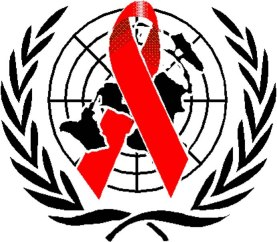 Logo of the United Nations Programme on HIV/AIDS (UNAIDS)