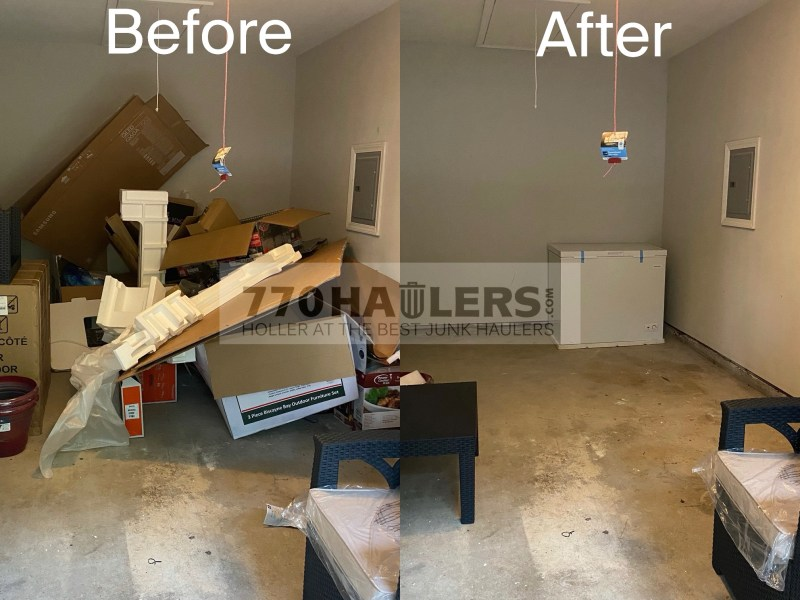 garage clean-out lilburn, junk removal lilburn, garage cleanout near me
