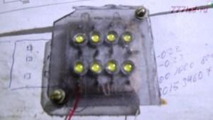Лампа на 220 В на светодиодах.