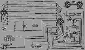 WIRING DIAGRAM  WHEEL TRACTORSCRAPER Caterpillar 627