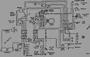WIRING DIAGRAM  ENGINE  MACHINE Caterpillar 3406  245