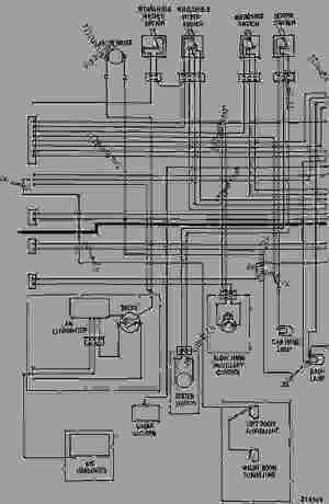 WIRING DIAGRAM24 VOLT SYSTEM  EXCAVATOR Caterpillar 225