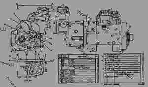 6N6268 PUMP GROUPGOV & FUEL INJ  ENGINE  MARINE