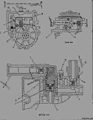7E8794 DRIVE GROUPGOV & TRANSFER PUMP  ENGINE