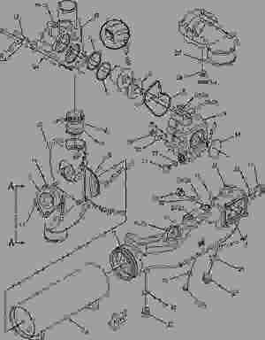 2240754 FASTENER GROUPOIL COOLER ENGINE  ENGINE