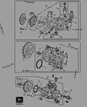 FUEL INJECTION PUMP  TRACTOR John Deere 5300  TRACTOR