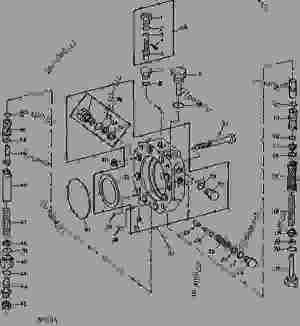 HYDRAULIC PUMP STROKE CONTROL VALVE 39 CM3 (24 IN3)  49