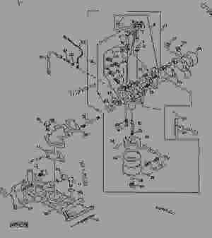 Carburetor and Intake Manifold (6x4 Engine) (059968  )  UTILITY VEHICLE John Deere TRAIL