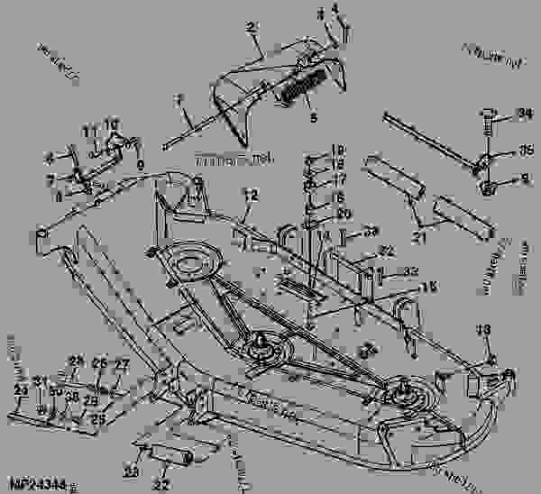 john deere gt245 54c deck diagram  trusted wiring diagrams •
