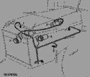 WIRING HARNESS (ENGINE) (CUMMINS  NTA 855)  TRACTOR John