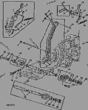 LOAD CONTROL [03C24]  TRACTOR John Deere 2940  TRACTOR