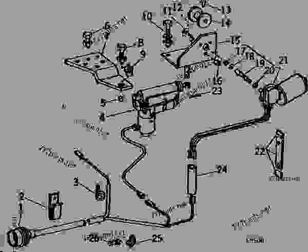 ELECTRIC REMOTE CONTROL (HARVESTER SPOUT CONTROL) [C15