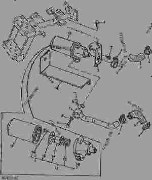 BLOCK FILTER ASSEMBLY [01J09]  TRACTOR, COMPACT UTILITY