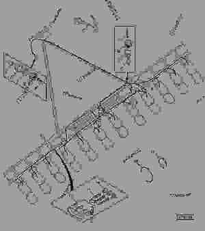 Wiring Harness  7200 Row Narrow  MONITOR, SEED John