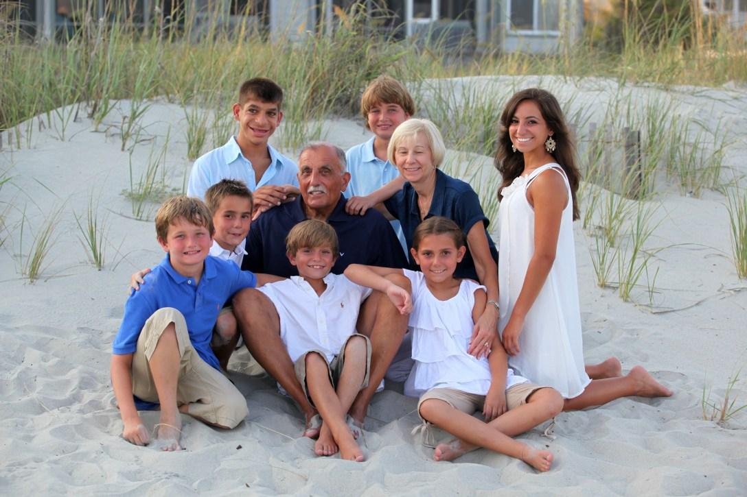 Family beach portraits in Myrtle Beach