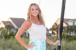 Senior beach photos in Myrtle Beach