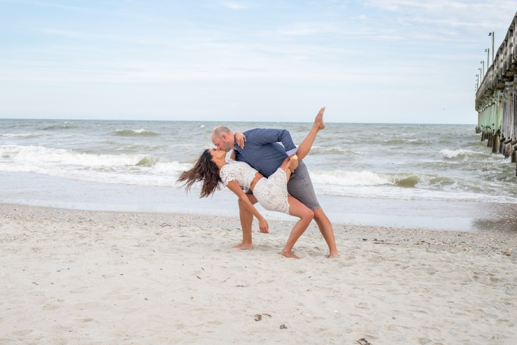 Engagement photography in Myrtle Beach by 777 Portraits Photography