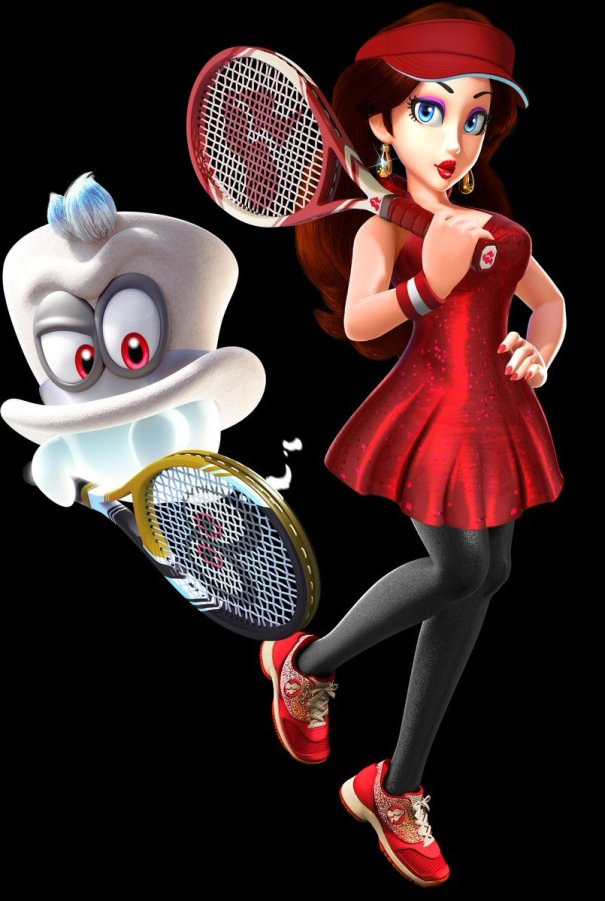 Would You Like To See Cappy And Pauline In Mario Tennis