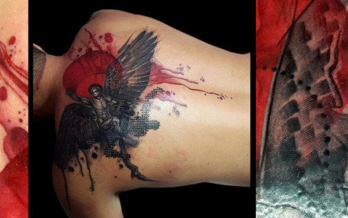 tumblr oue83i4rkf1qzabkfo1 500 - Tattoo done by Santa Perpetua. Brighton, UK....