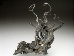 hideback:Native Silver Specimen, Himmelfurst Mine, Germany