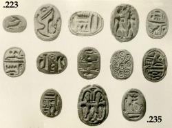 met-egyptian-art:  Scarab, Egyptian ArtMedium: SteatiteGift of J. Pierpont Morgan, 1905Metropolitan Museum of Art, New York, NYhttp://www.metmuseum.org/art/collection/search/569424