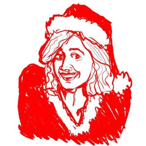 #gretagerwig #Xmas #Christmas #fromreferencephoto #sketchfromphoto #sketchfromreference #sketchofphoto #sketch #drawing #illustration #portrait #girl #comics #facesketch #sketchbook #pinup #red