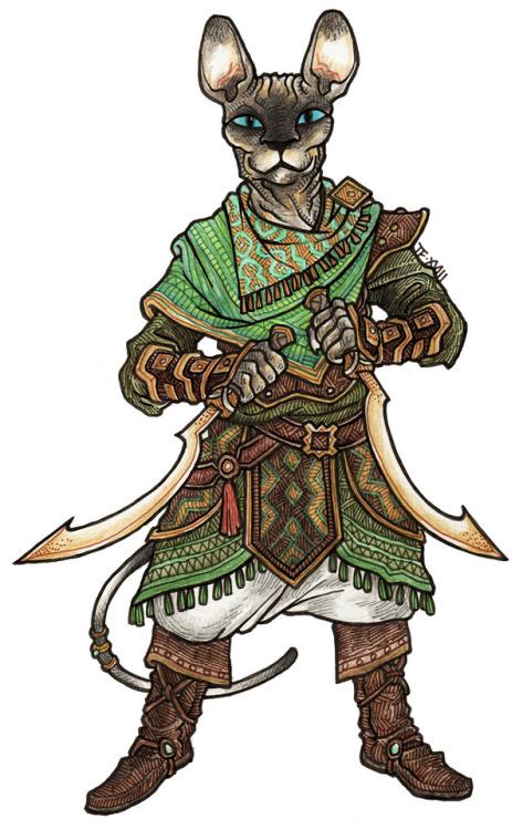 Barbarian Female Tabaxi
