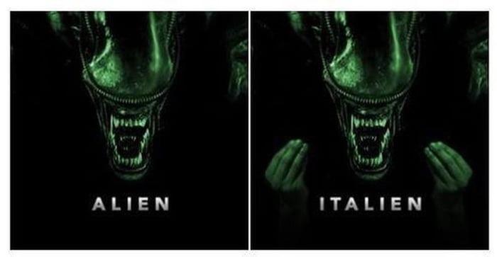 Italien alien