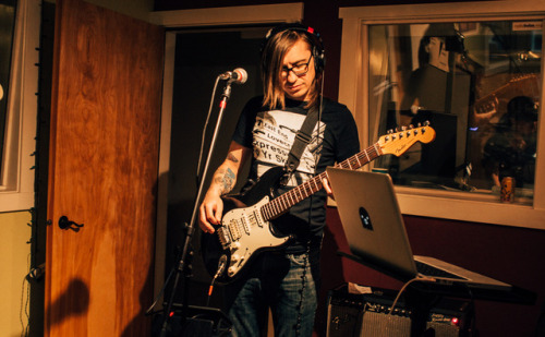 The Prids, from PDX, played a live set Sunday afternoon at KRBX. AS