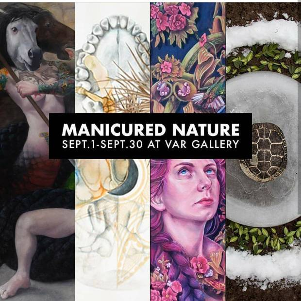 I'm going to have some of my work at Var gallery for this show, and  it opens tonite
