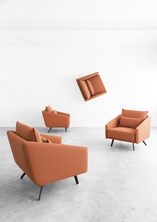 tumblr_o96oybNZUA1qfx0suo1_500 stua:  STUA Costura armchair is lovely from any level of... Contemporary