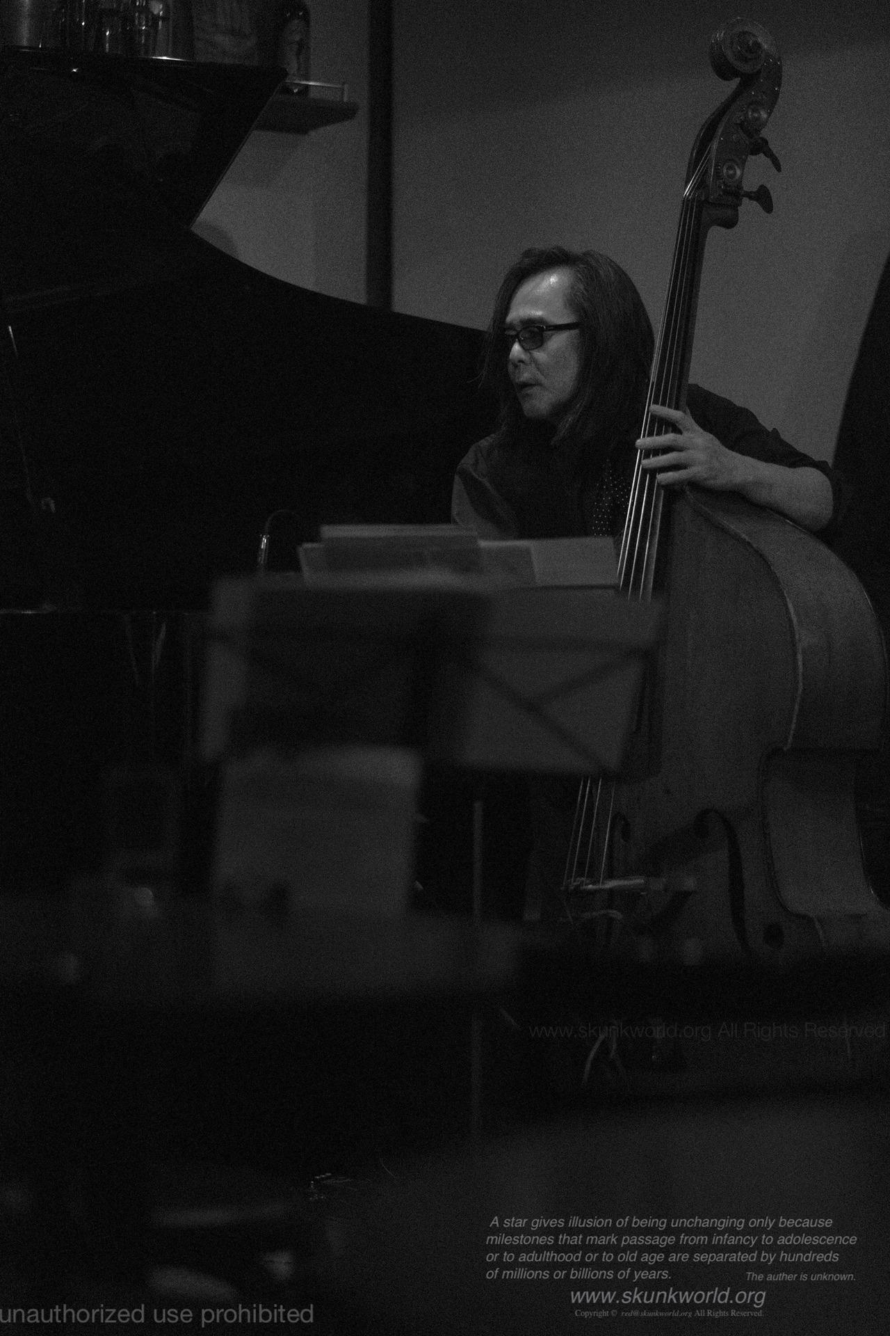 三原 脩-MIHARA, Osamu-bassist