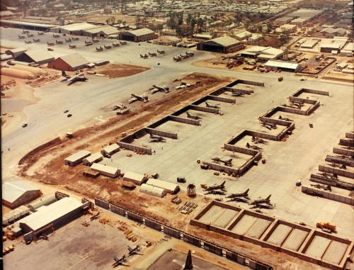 Bien Hoa Air Base Vietnam 1968
