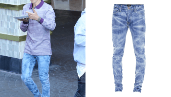 b1966ee5 Amiri Painter Jean in Light Indigo – $825.00Available here – Justin ...