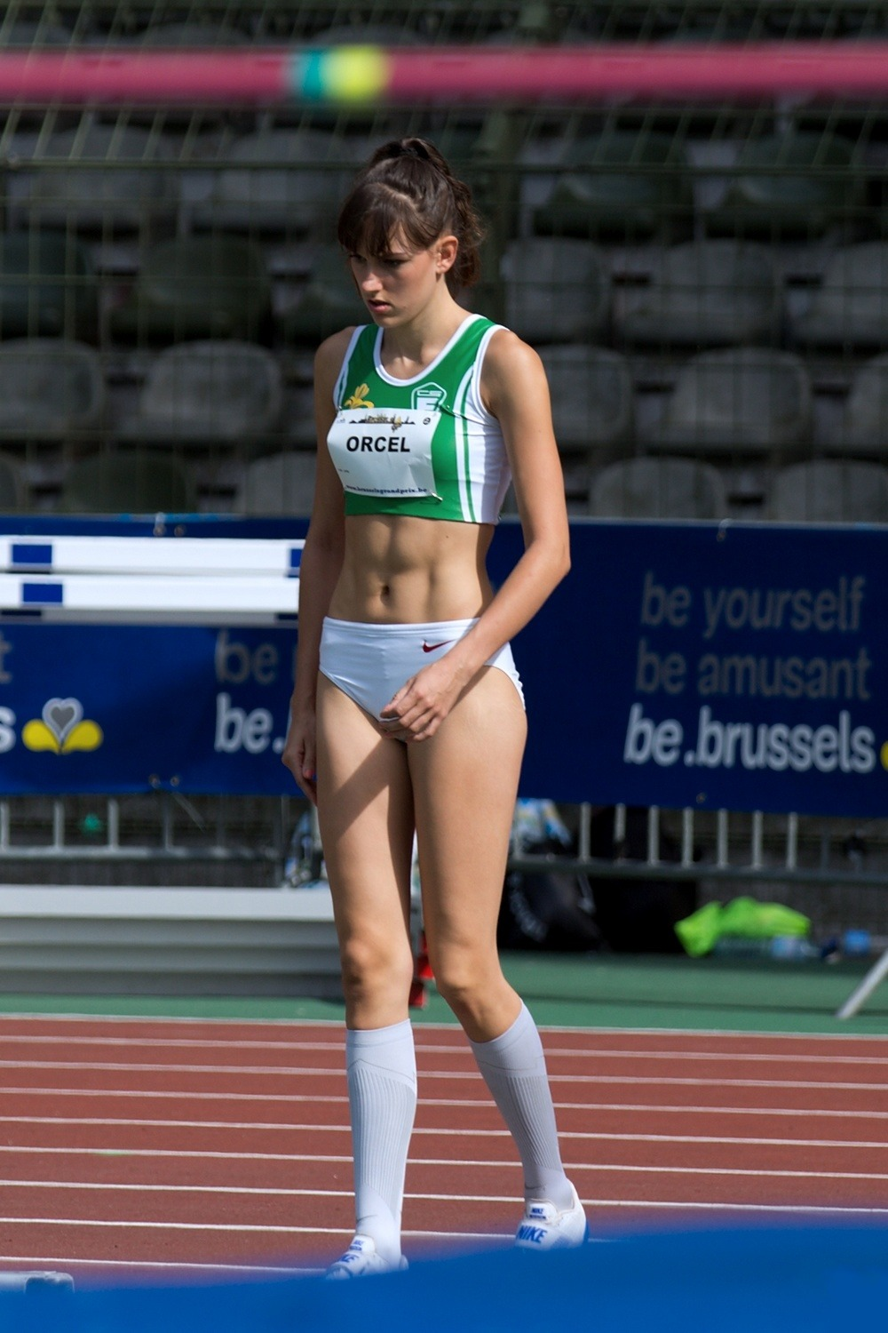 Claire Orcel 2017 Brussels Grand Prix