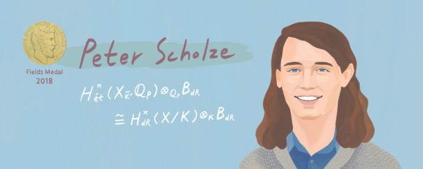 Peter Scholze of the University of Bonn is one… – Science