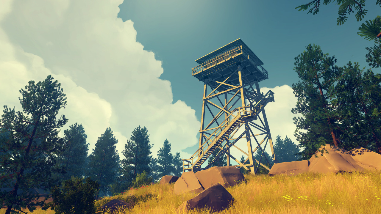 Image result for firewatch screenshots