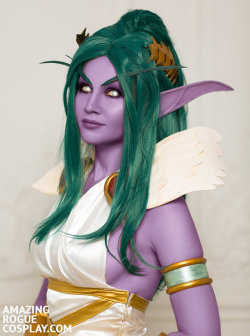 Tyrande, Love Goddes by AmazingRogue  Check out http://hotcosplaychicks.tumblr.com for more awesome cosplayWe're on Facebook!https://www.facebook.com/hotcosplaychicks