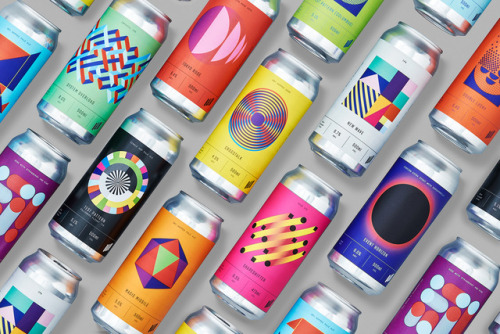 """tumblr_p2gajza2dS1r5vojso1_500 Packaging Design for Halo Brewery by way of Underline Studio""""Halo is an... Design"""