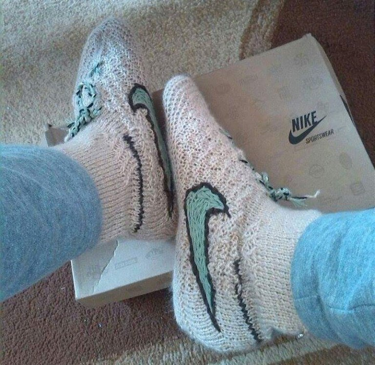 Zapatillas Nike falsas