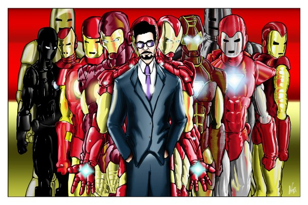Some Iron Man fanart by @epicwee – Iron Man
