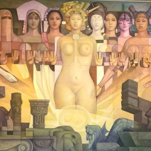 #mural #museum (at Museo Nacional de Antropología)