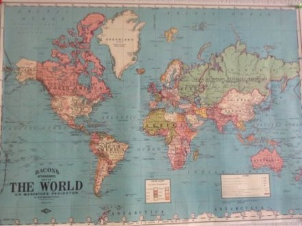 1930 World Map Reproduction   Maps on the Web 1930 World Map Reproduction