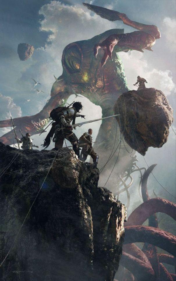fantasy-art-engine: Rise of Eldrazi by Michae… – Fantasy