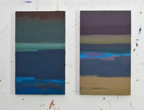 Corresponding Each 30x50cm, #EggtemperaOil #oilpainting #stateoftheday #artoftheday #instaart #painting #contemporaryart #peinture #fineart #berlinart #christophkern #malerei #contemporarypainting #abstractart #berlin