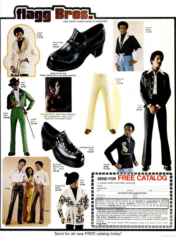 ba564a29e Flagg Bros couture: Vintage platform shoes and super fly suits ...