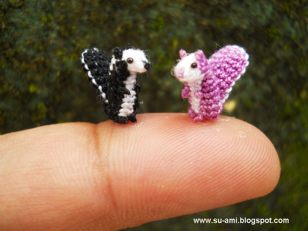 Culture N Lifestyle CNL Miniature Crochet Animals By