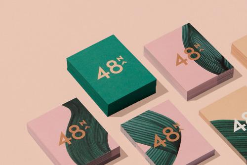 "tumblr_pdbh6xsGPp1r5vojso7_500 Brand identity for 48North by Blok Design""48North, a bold female... Design"