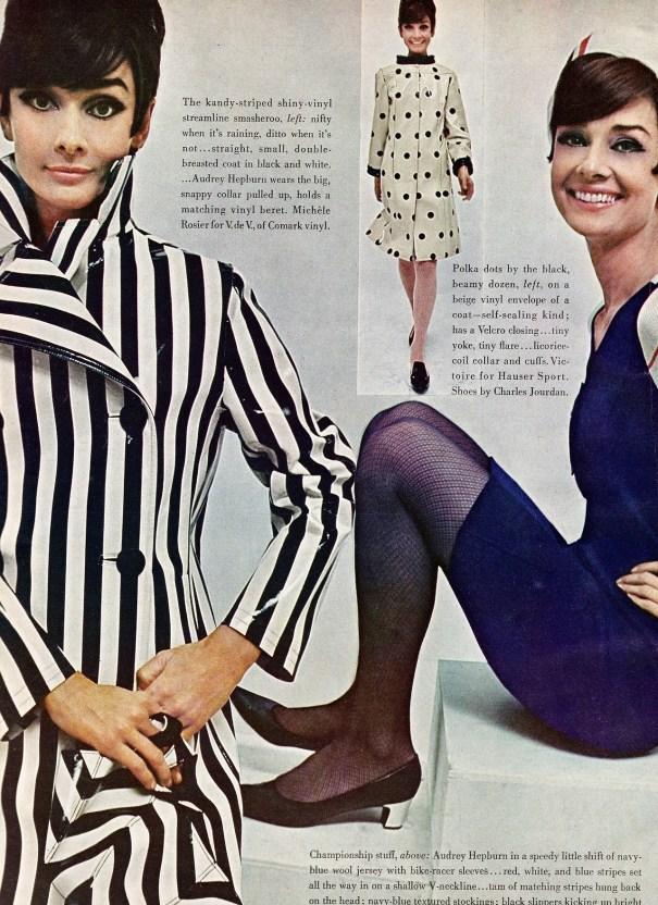 cf91bfa27c Audrey Hepburn shot by William Klein for Vogue 1966 – Vintage Fashion